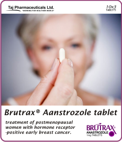 Anstrozole tablet 1mg